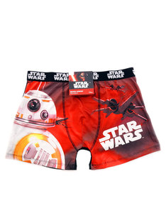 Freegun Microfiber Star Wars BB-8 Red/White Boxers