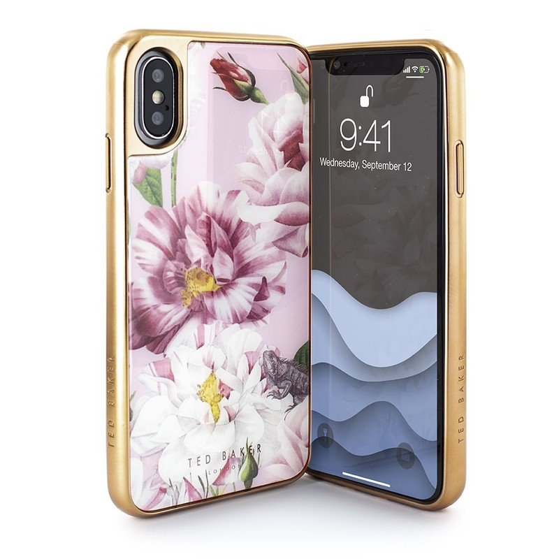 huge discount e7652 645ae Ted Baker Iguazu Tempered Glass Case for iPhone XS