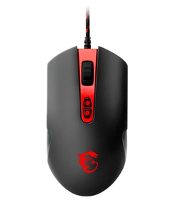 MSI Interceptor DS100 Black Gaming Mouse