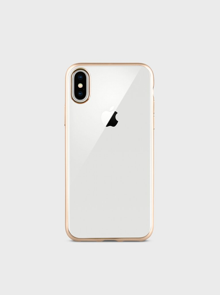 hot sale online 62982 a8873 Uniq Glacier Frost Case Gold for Iphone X