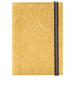 Libretto A6 Paseo Embossed Layflat Notebook Gold