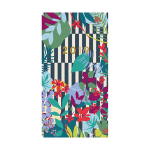 Portico Designs Patternology Slim Diary Floral Stripe