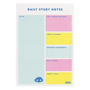 Kikki.K A5 Study Notes Pad Smile Mint