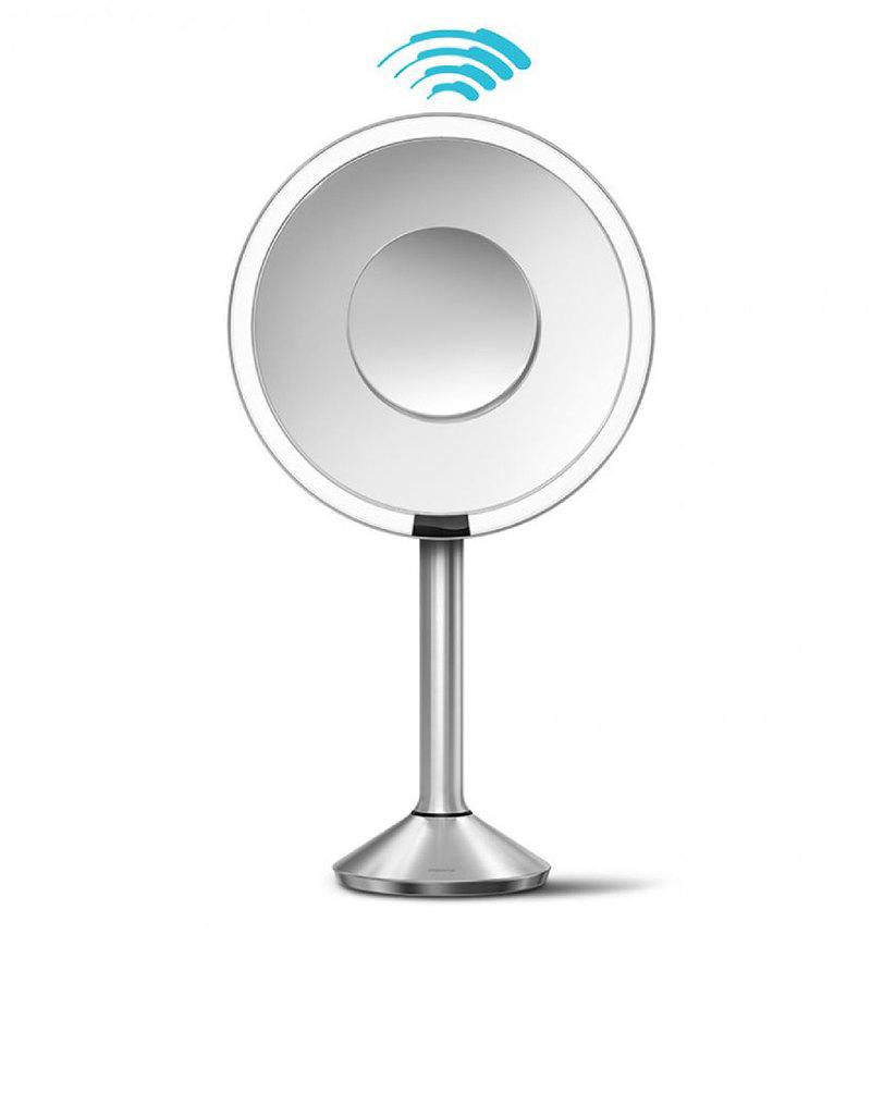 Simplehuman Sensor Mirror Pro 20cm Round Stainless Steel