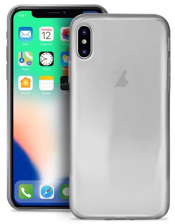 Puro 0 3 Nude Tpu Ultra Slim Case Transparent For Iphone X