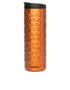 Aladdin Hammered Stainless Steel Insulated Travel Mug Copper 473 ml
