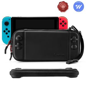 tomtoc Slim Hard Case Pu Black for Nintendo Switch