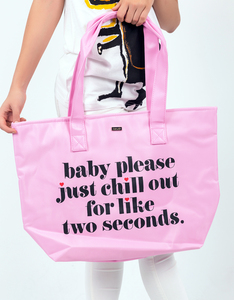 Ban.do Just Chill Out Cooler Bag Baby Please