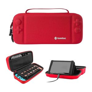 Tomtoc Hard Shell Travel Case Red for Nintendo Switch