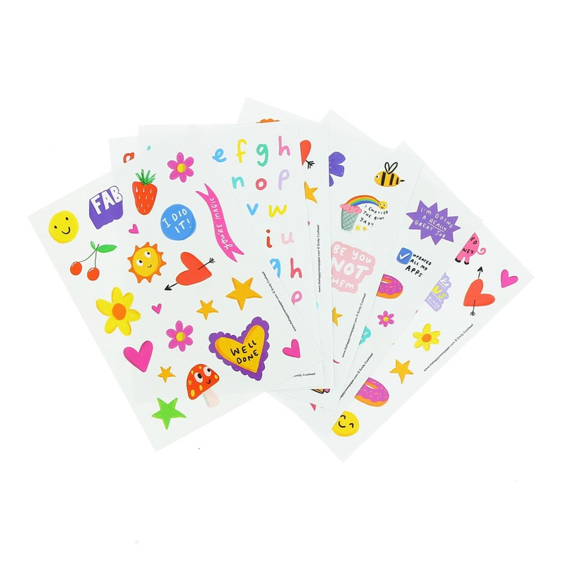 Happy News Sticker Booklet