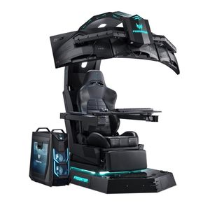 Acer Thronos Gaming Chair + Predator Orion PO9-900 i9 Desktop + 3 Z1 Monitors + Aethon 500 Keyboard + Cestus 510 Mouse + Galea 300 Headset [Pre-order]