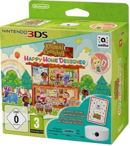 Animal Crossing Happy Home +Nfc Reader/Writer 3Ds