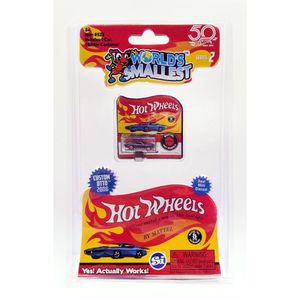 Worlds Smallest Hot Wheels Assortment [Includes 1]