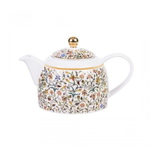 Silsal Majestic Tea Pot with Gold 22 Carat Gold
