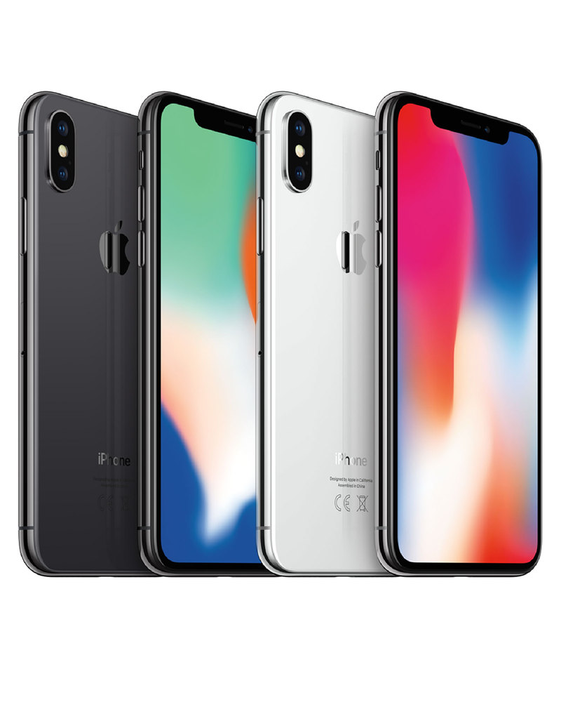 new styles d0ecd 21280 iPhone X 256GB Silver