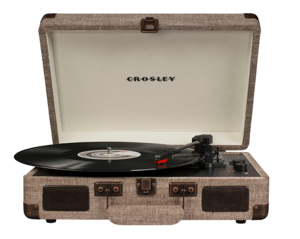 Crosley Cruiser Deluxe Turntable Havana