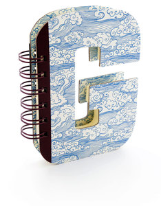 Alpha Note Books Mini Letter G