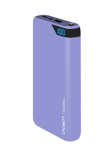 Cygnett ChargeUp Boost 15000mAh Lilac Power Bank
