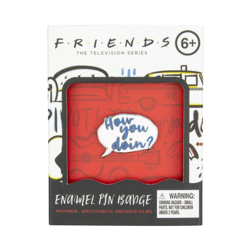 Paladone Friends Enamel Pin Badge [Includes 1]