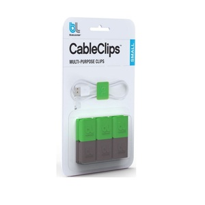 Bluelounge Cableclip Cable Organizer Small [6 Pack]