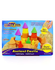 Motion Sand Ancient Castle Playset 3D Sand Box