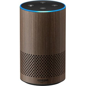 Amazon Echo Smart Speaker Walnut [2nd Generation]