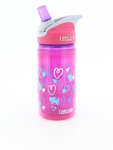 Camelbak Eddy Kids Insulated 400ml Pink Hearts Bottle