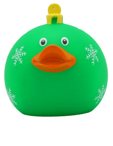 Lilalu Green X'mas Ball Duck