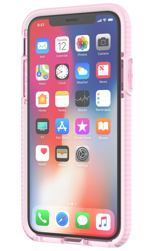 outlet store d9e65 d4168 Tech21 Evo Check Case Light Rose/White for iPhone X
