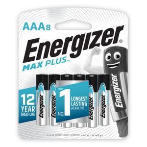 Energizer Max Plus AAA 15V [Pack of 8]