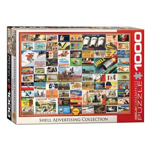 Eurographics Shell Advertising Collection 1000 Pcs Jigsaw Puzzle
