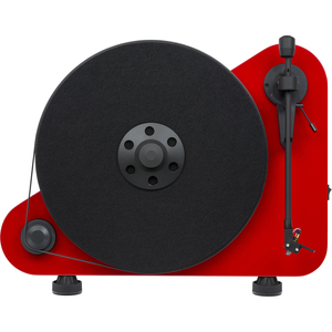Pro-Ject VT-E R Red Belt-Drive Turntable