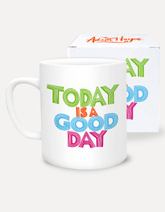 Ustudio Today Is A Good Day Type Club Mug