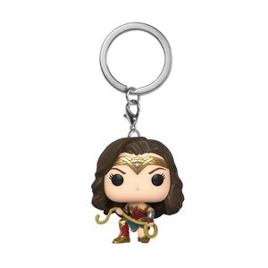 Funko Pop Keychain Wonder Woman 1984 Wonder Woman with  Lasso