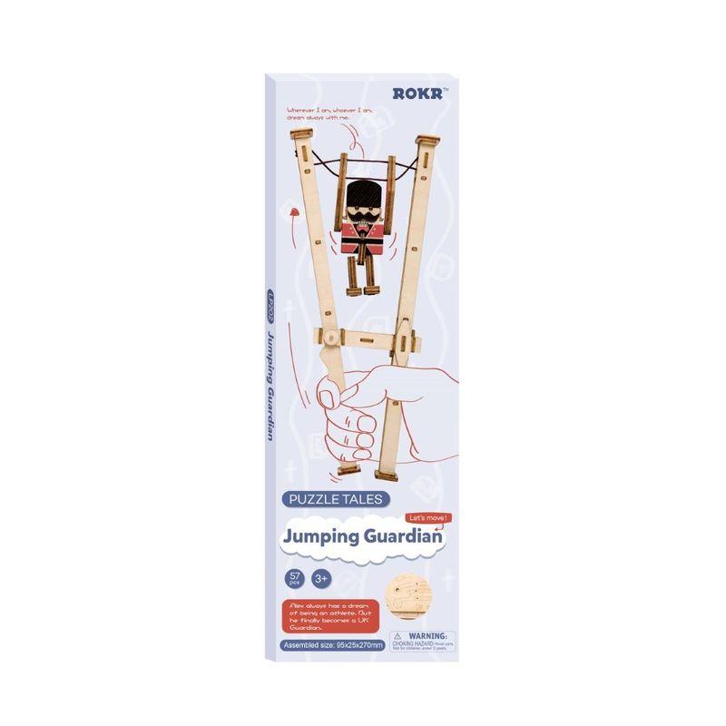 Robotime Rowood Jumping Guardian Puzzle DIY Kit