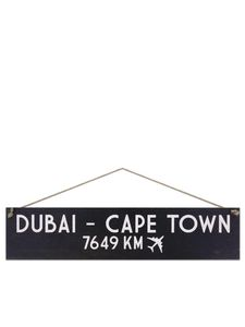 I Want It Now Cape Town Wooden Location Sign