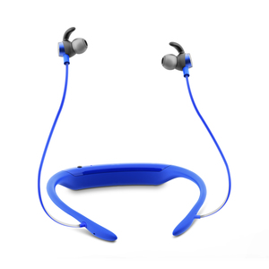 JBL Reflect Response Blue Earbuds