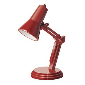 If Book Lamp Retro Red