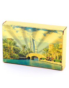 Burj Al Arab Gold Foil Plated Playing Cards [Style 2]
