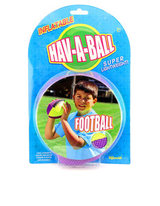 Toysmith Football Hav-A-Ball Inflatable American Football