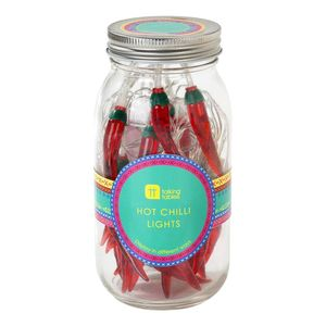 Boho Chilli Lights In Giftable Jar