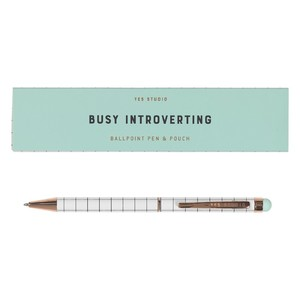 Yes Studio Busy Introverting Pen & Case