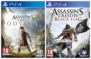 Assassin's Creed Odyssey + Assassin's Creed Black Flag [Bundle]