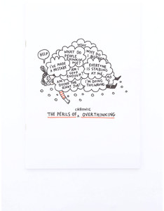 Ohh Deer The Perils Of Overthinking A4Ish Notebook