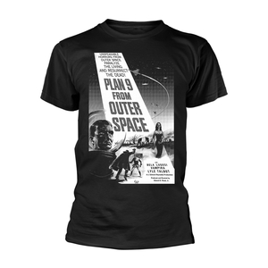 Plan 9 From Outer Space Poster Men's T-Shirt Black