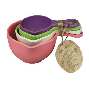 Capventure Cup of Flavor Measuring Cups Rainbow [Set of 4]