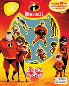 Disney The Incredibles 2 Stuck On Stories