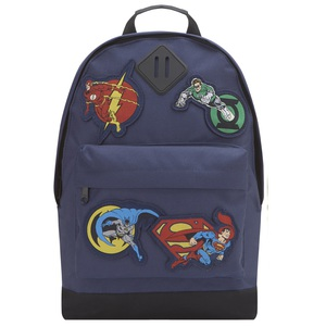 Fabric Flavours DC Heroes Badge Navy Kids Backpack