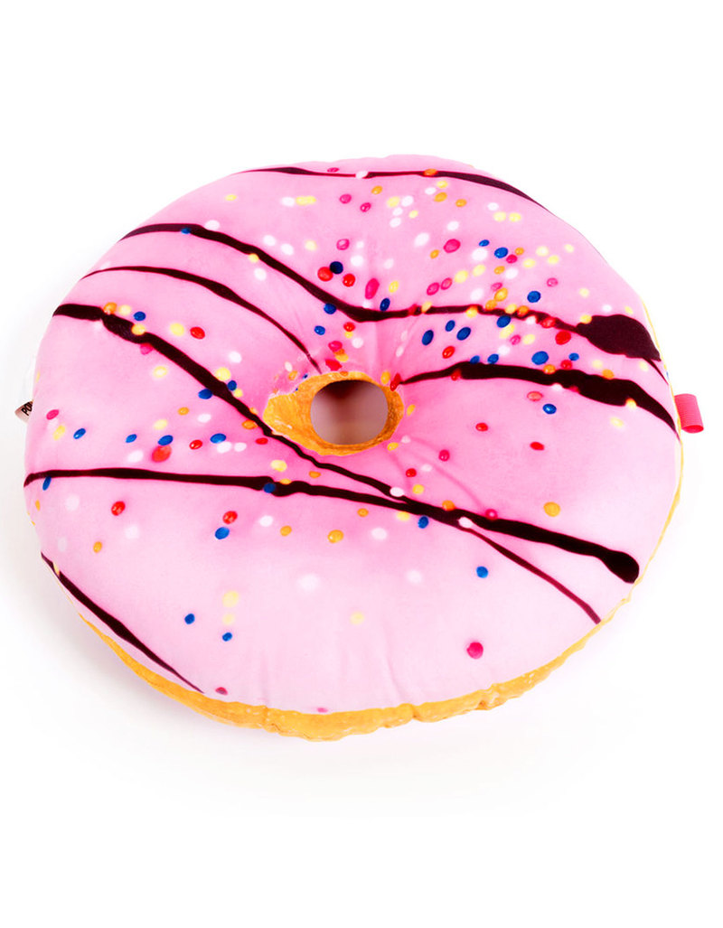 Iscream Pink Donut Write-On Pillow