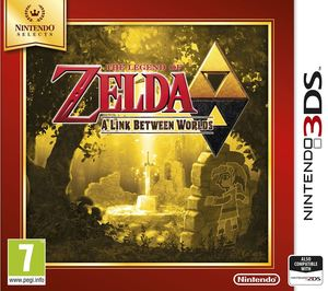 Legend Of Zelda A Link Between Worlds Selects 3Ds